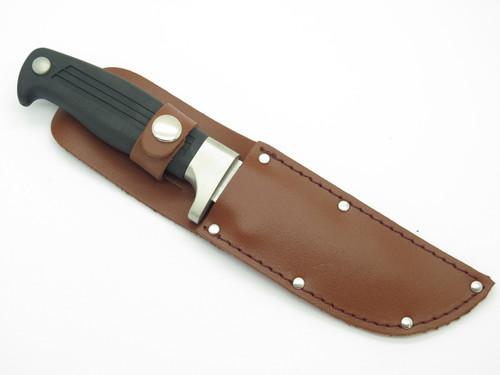Vtg Kershaw Kai 2011 Fixed Blade AUS6A Fixed Skinner Hunting Knife & Sheath