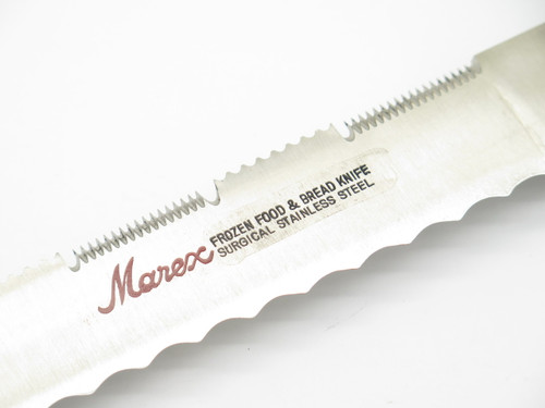 MAREX KINRYU SEKI JAPAN FROZEN FOOD BREAD UTILITY KITCHEN CUTLERY SLICER KNIFE