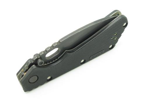 Buck 889 Strider Logo Black 420HC Blade & Handle Tactical Folding Pocket Knife