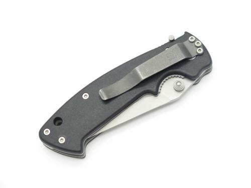 Vtg CRKT 6772 Crawford Kasper Manual Lawks Medium Folding Pocket Knife W/ Clip