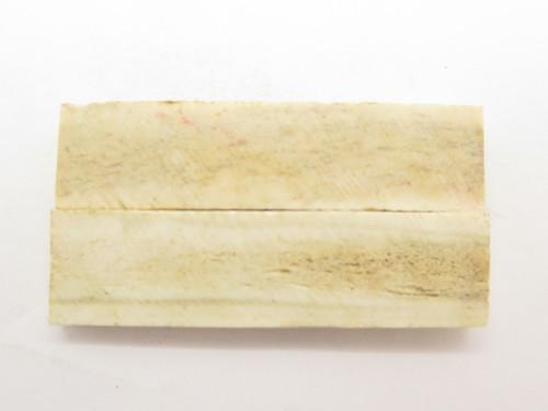 INDIA SAMBAR STAG SCALE SLAB FOLDING FIXED KNIFE MAKING HANDLE GRIP BLANK (49)