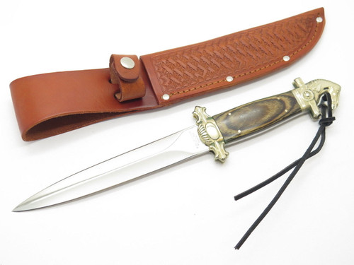 C JUL HERBERTZ CUSTOM TAK FUKUTA SEKI JAPAN PRESENTATION HORSE DAGGER KNIFE