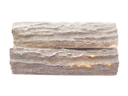 "India Sambar Stag 0.75x2.875"" Scale Slab Folding Knife Making Handle Blank (07)"