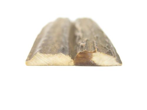 INDIA SAMBAR STAG SCALE SLAB FOLDING FIXED KNIFE MAKING HANDLE GRIP BLANK (30)