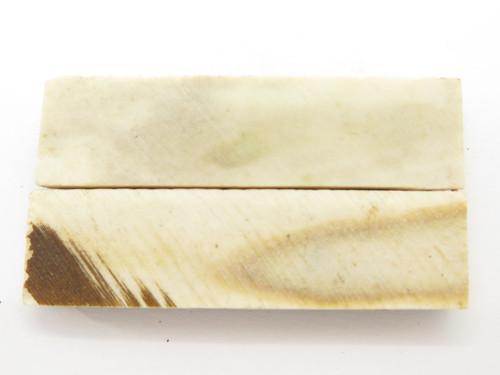 INDIA SAMBAR STAG SCALE SLAB FOLDING FIXED KNIFE MAKING HANDLE GRIP BLANK (31)