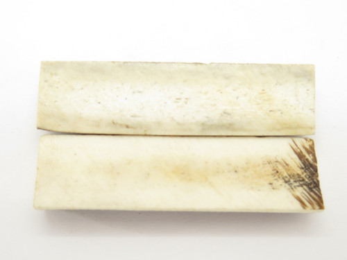 INDIA SAMBAR STAG SCALE SLAB FOLDING FIXED KNIFE MAKING HANDLE GRIP BLANK (33)