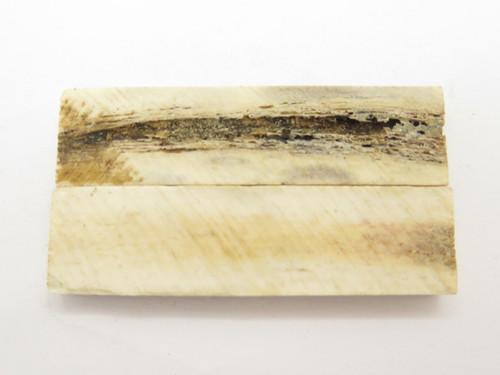 INDIA SAMBAR STAG SCALE SLAB FOLDING FIXED KNIFE MAKING HANDLE GRIP BLANK (40)