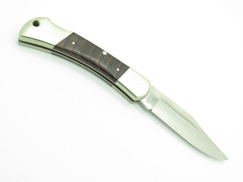Vtg 1980s Parker Seki Japan 440 Stainless Folding Hunter Lockback Pocket Knife