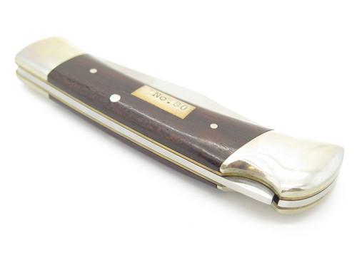 Vtg 1980s Parker No.80 Seki Japan 440 Stainless Folding Hunter Lockback Knife