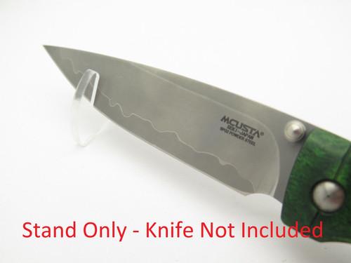 MCUSTA SEKI JAPAN KNIFE COUNTER DISPLAY STAND for FOLDING POCKET KNIFE