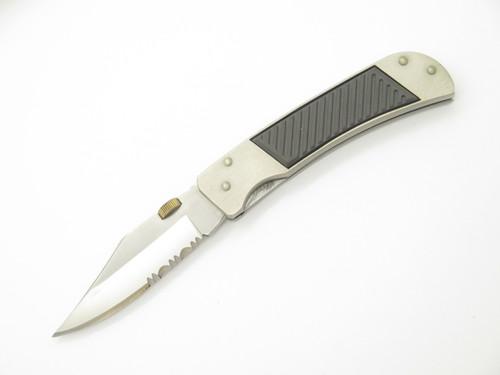 VTG GUTMANN SEKI JAPAN 440 STAINLESS LINERLOCK FOLDING HUNTER POCKET KNIFE