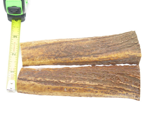 USA 5.9 x .87 ELK STAG ANTLER KNIFE MAKING HANDLE SCALE PISTOL GRIP BLANK SLAB