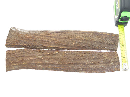 USA 7 x .93 ELK STAG ANTLER KNIFE MAKING HANDLE SCALE PISTOL GRIP BLANK SLAB