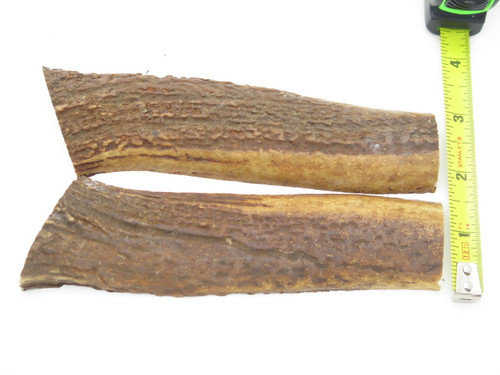 USA 6.3 x .93 ELK STAG ANTLER KNIFE MAKING HANDLE SCALE PISTOL GRIP BLANK SLAB