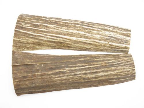 USA 6.1 x 1.5 ELK STAG ANTLER KNIFE MAKING HANDLE SCALE PISTOL GRIP BLANK SLAB