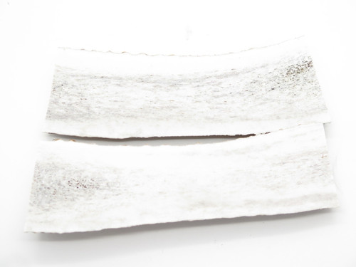 USA 6.18 x 1.87 ELK STAG ANTLER KNIFE MAKING HANDLE SCALE PISTOL GRIP BLANK SLAB