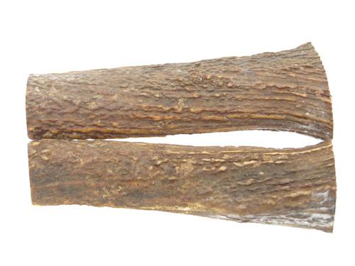 USA 6.18 x 1.9 ELK STAG ANTLER KNIFE MAKING HANDLE SCALE PISTOL GRIP BLANK SLAB
