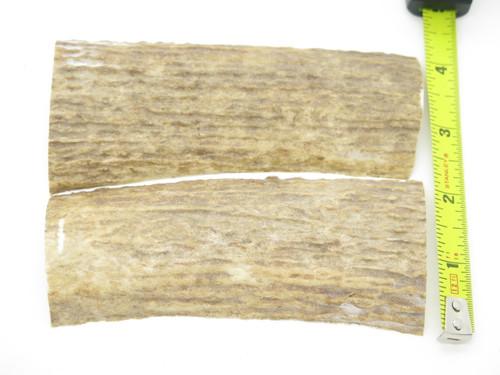 USA 5.12 x 1.93 ELK STAG ANTLER KNIFE MAKING HANDLE SCALE PISTOL GRIP BLANK SLAB