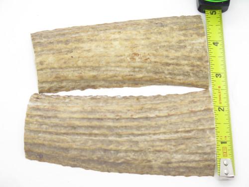 USA 5 x 1.93 ELK STAG ANTLER KNIFE MAKING HANDLE SCALE PISTOL GRIP BLANK SLAB