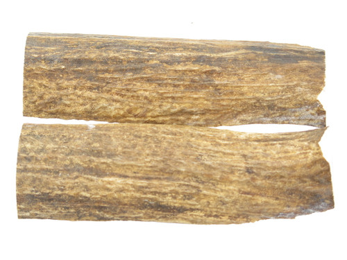 USA 6 x 1.75 ELK STAG ANTLER KNIFE MAKING HANDLE SCALE PISTOL GRIP BLANK SLAB