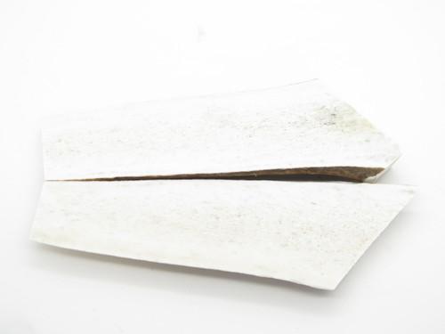 USA 5.5 x 1.18 ELK STAG ANTLER KNIFE MAKING HANDLE SCALE PISTOL GRIP BLANK SLAB