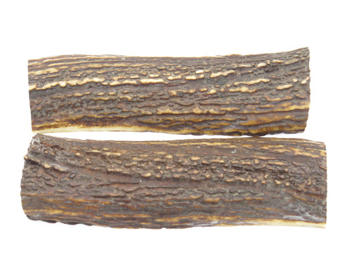 USA 5.56 x 1.62 ELK STAG ANTLER KNIFE MAKING HANDLE SCALE PISTOL GRIP BLANK SLAB