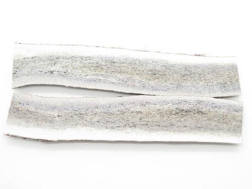 USA 8.3 x 1.5 ELK STAG ANTLER KNIFE MAKING HANDLE SCALE PISTOL GRIP BLANK SLAB
