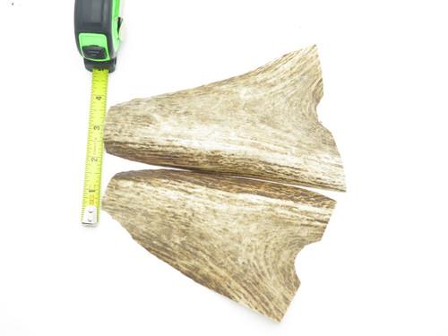 USA 6 x 1.18 Elk Stag Antler Knife Making Handle Scale Pistol Grip Blank Slab