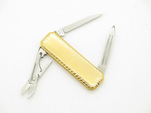 Vtg Things Remembered Seki Japan Small Gentleman Folding Pocket Knife Scissors