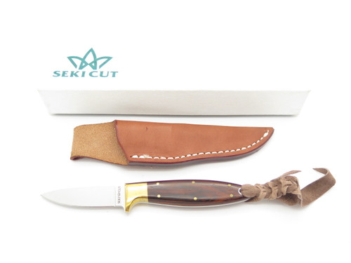 Vtg Seki Cut Bob Lum Design SC-123 Fixed Blade VG-10 Hunting Knife By Hattori