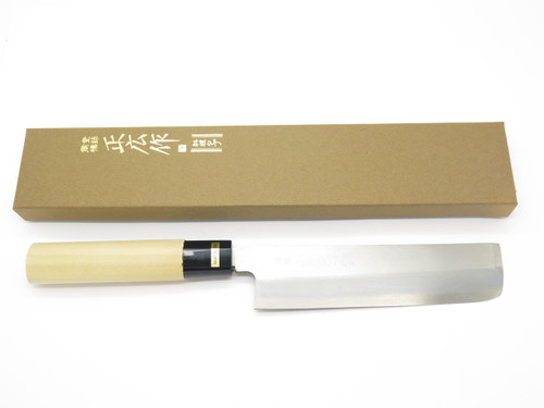 MASAHIRO SEKI JAPAN 165mm USUBA SUSHI CHEF VEGETABLE KITCHEN CUTLERY KNIFE