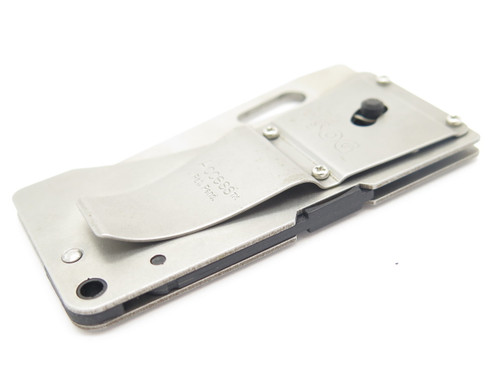Sog Original Access Card Seki Japan Stainless Folding Pocket Knife Money Clip