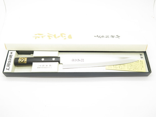 MASAHIRO G SEKI JAPAN 200mm YANAGIBA SASHIMI JAPANESE SUSHI CHEF KITCHEN KNIFE