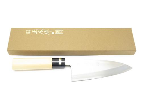 MASAHIRO JAPANESE SEKI JAPAN 150mm DEBA SUSHI CHEF FISH KITCHEN CUTLERY KNIFE