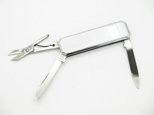 Vtg Mamoru Katoh Seki Japan Textured Stainless Gentleman Folding Pocket Knife
