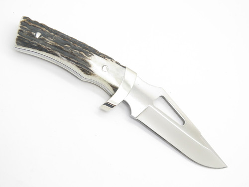 CHUCK BUCK CUSTOM 400 LIMITED SIGNATURE BCCI STAG BG42 FIXED BLADE HUNTING KNIFE
