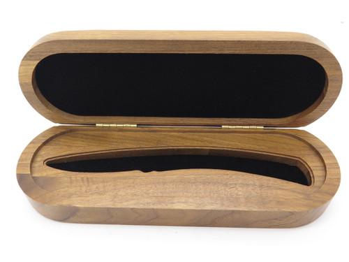 Buck 501 Squire Folding Pocket Knife Walnut Wood Storage Box Display Case