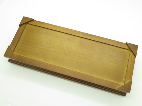 Buck Glass Top Wood Display Case For Buck 110 111 Folding Hunter Knife