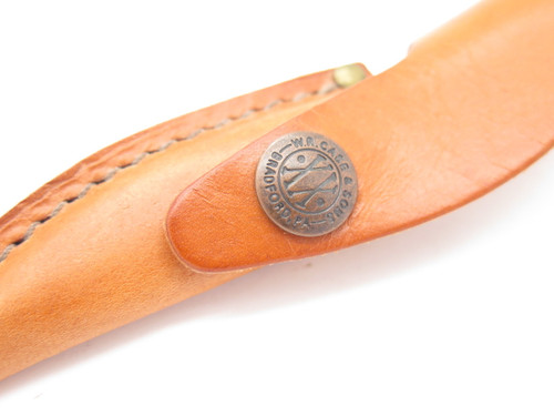 Case XX M3 Finn Small Fixed Blade Brown Leather Knife Sheath (Blem)