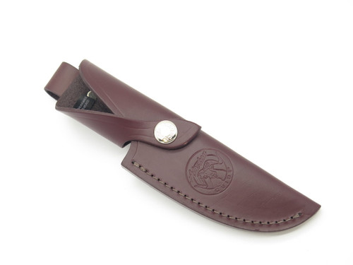 Buck 191 192 Zipper Vanguard Alaskan Guide Leather Fixed Blade Knife Sheath
