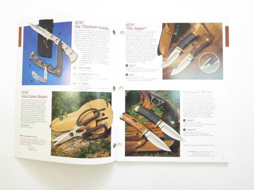 1993 Buck Dealer Knife Catalog Brochure Book Fixed Folding 110 124 119