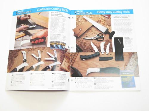 1991 BUCK DEALER KNIFE CATALOG PRICE LIST BOOK FIXED FOLDING 110 124 119 184