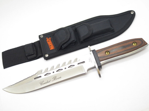 "FURY 66037 COMBAT BOWIE 14.5"" FIXED BLADE KNIFE TAK FUKUTA SEKI JAPAN ""NOS"""