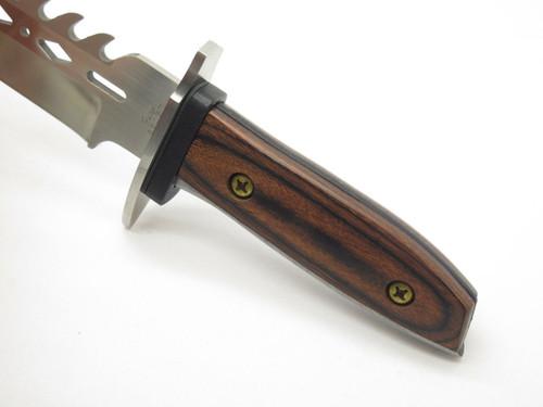 "Vtg Fury 66037 Combat Bowie 14.5"" Fixed Blade Knife Tak Fukuta Seki Japan ""NOS"""