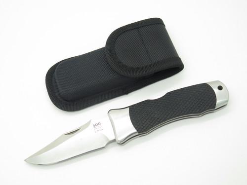 VINTAGE SOG SMCA SEKI JAPAN TOMCAT KRATON FOLDING HUNTER LOCKBACK POCKET KNIFE