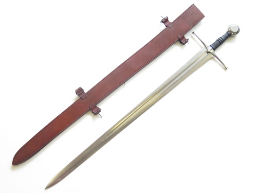 Valiant Armoury Medieval Norman Long Sword Knife Custom Handle By James Curry