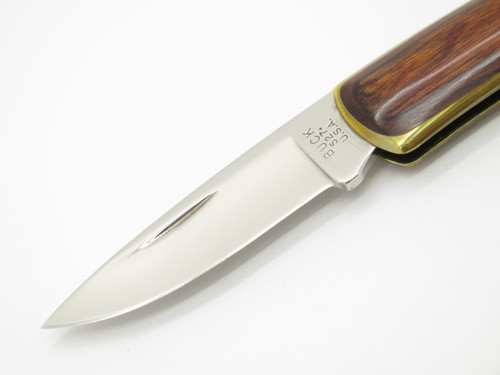 Vtg 1985 Transition Buck 527 The Treasury Brown 525 Gent Folding Pocket Knife