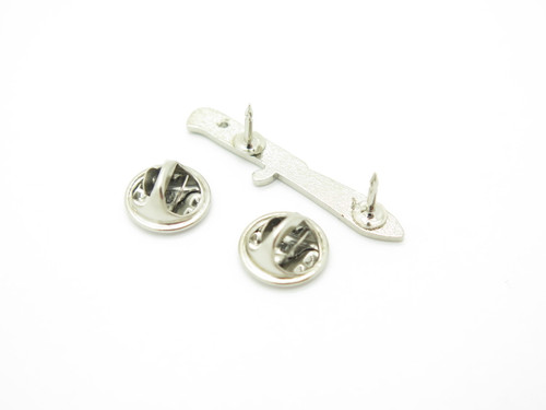 Small Puma White Hunter Hunting Knife Tie Tack Lapel Hat Pin Great Gift