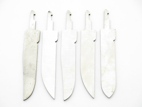 LOT of 5 VTG SCHRADE ROGERS CHANGER POCKET KNIFE BLADE BLANK MAKING PART