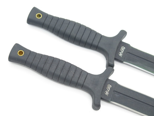 Closeout Lot of 2 *no Sheath* Fury Tactical 65594 Fixed Blade Dagger Knife